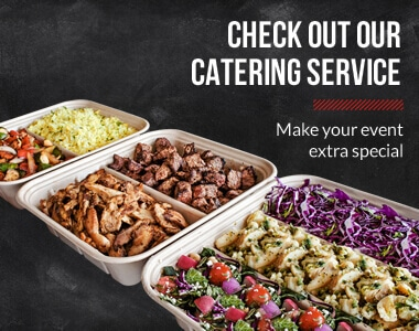 Check out our catering service. Make your event extra special