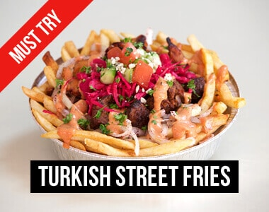 Turkish Street Fries, Must Try