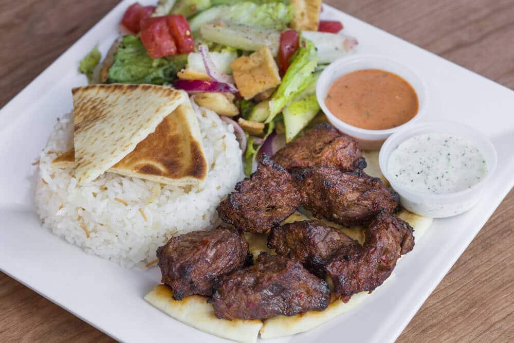 Veal Shish Kebab
