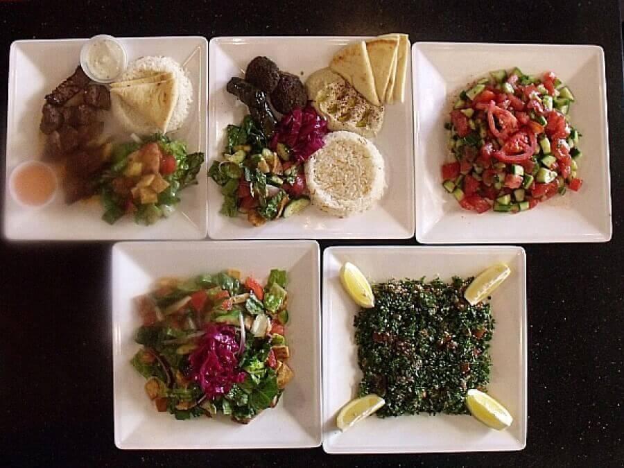 DonerG Variety of Salads