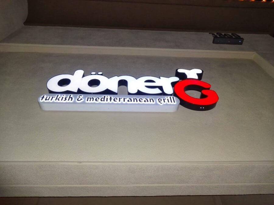 DonerG Signage