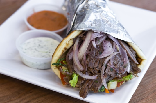 pita and sandwiches wraps by donerg