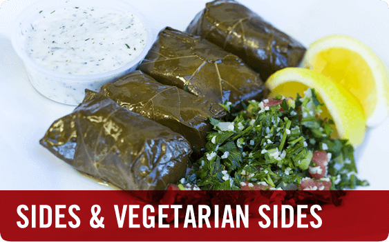Mediterranean Food - Turkish Sides and Vegetarian