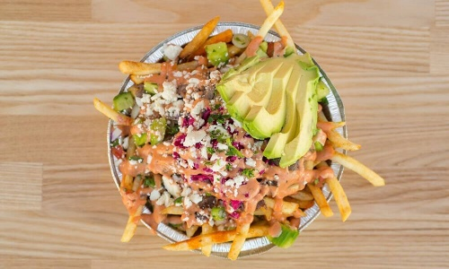 DonerG Turkish Fries with Avocado