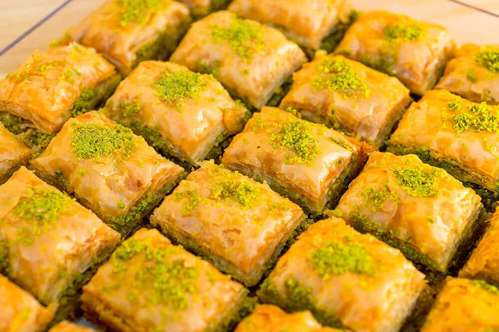 Pistachio Walnut Baklava (2 Pieces)
