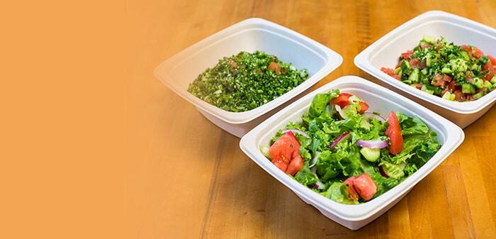 Fresh Salads and Taboola