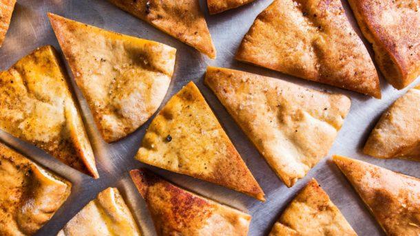 How to make Homemade Pita Chips Recipe