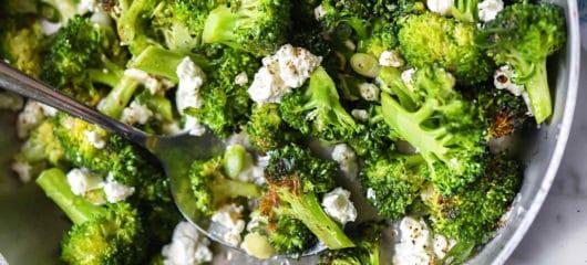 Crispy Lemon Roasted Broccoli