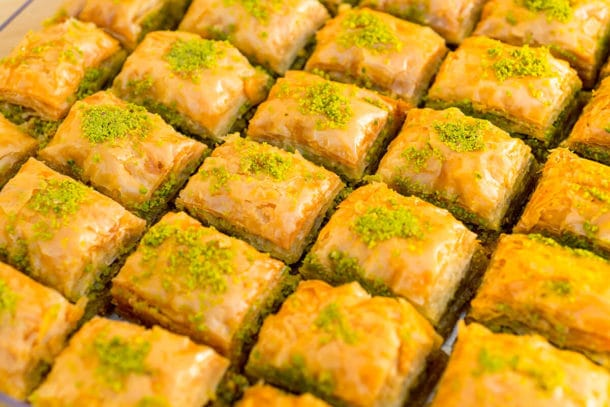 Baklava, Turkish Food & Mediterranean Food