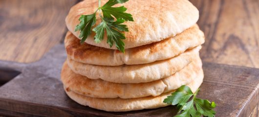 How To Make Pita Bread Recipe Turkish and Mediterranean Food
